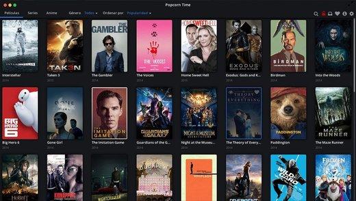Popcorn • Movies and Series