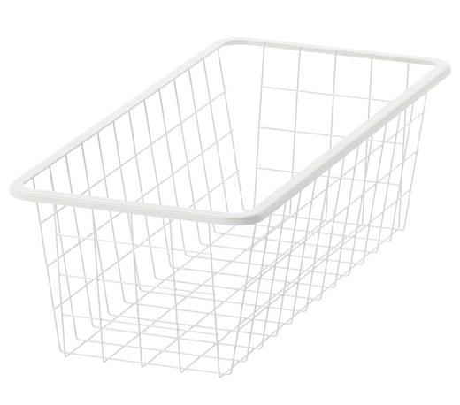 JONAXEL Cesto de rejilla - blanco - IKEA