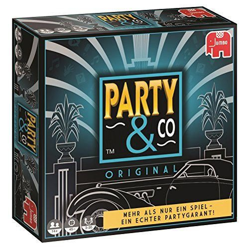 Party & Co. Original Adultos Juego de mesa de carreras - Juego