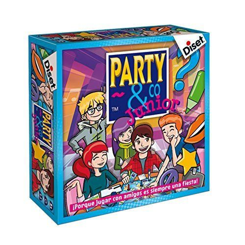 Diset- Juego Party & co Junior, 8+