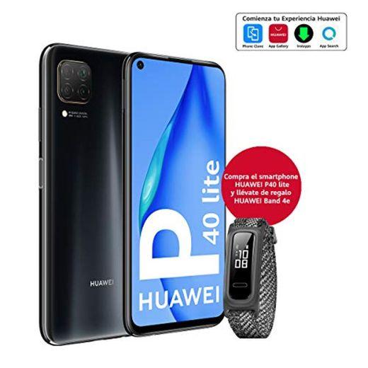"HUAWEI P40 Lite - Smartphone con Pantalla de 6.4"" FullView (Kirin 810,"