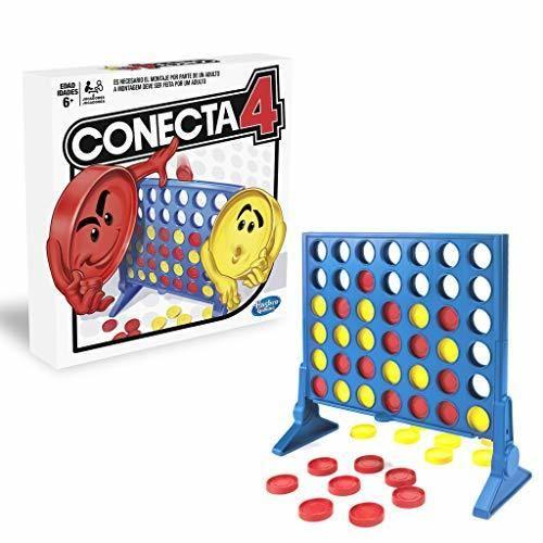 Hasbro Gaming Juego de Habilidad Conecta 4, Multicolor, única