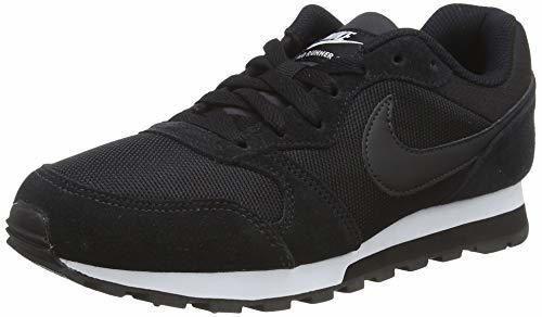 Nike MD Runner 2, Zapatillas de Running Mujer, Negro