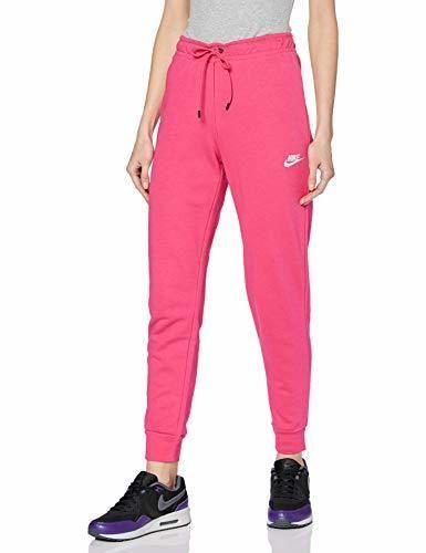 Nike W NSW Essntl Pant Tight FLC Pantalones de Vellón, Mujer, Rosa