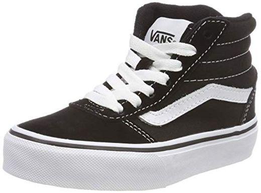 Vans Ward Hi Classic Suede/canvas Zapatillas altas Unisex Niños, Negro