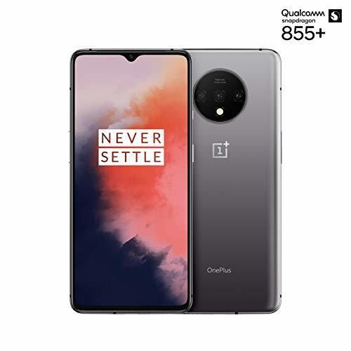 """OnePlus 7T Smartphone Frosted Silver   6.55""""/16,6 cm AMOLED Display 90Hz Power"""