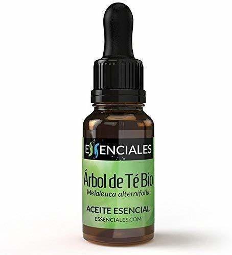 Essenciales - Aceite Esencial de Árbol de Té BIO, 100% Puro y