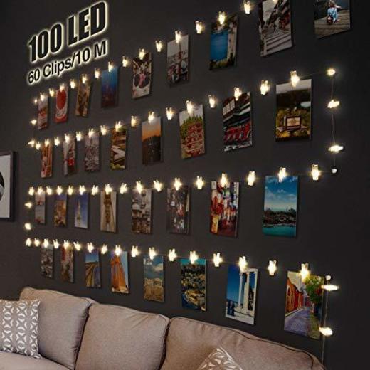 Litogo Clip Cadena de Luces LED