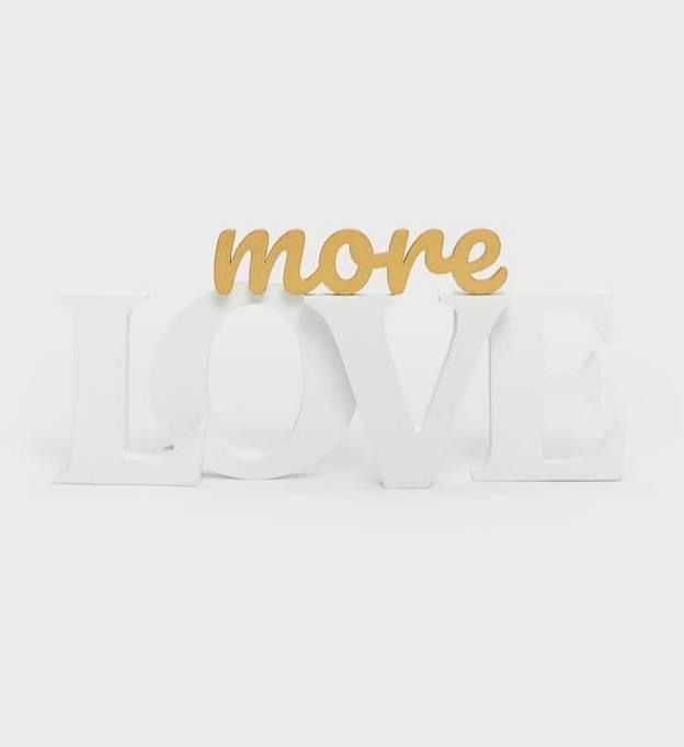 Cartaz Love More