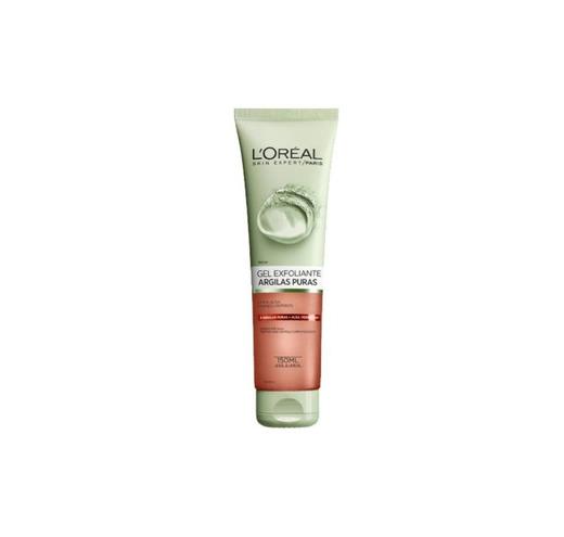 Gel de Limpeza Facial com Argilas Puras Esfoliante