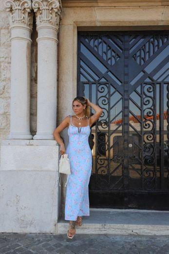 Maxi Dress Floral Summer
