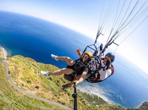 Paragliding, Arco da Calheta
