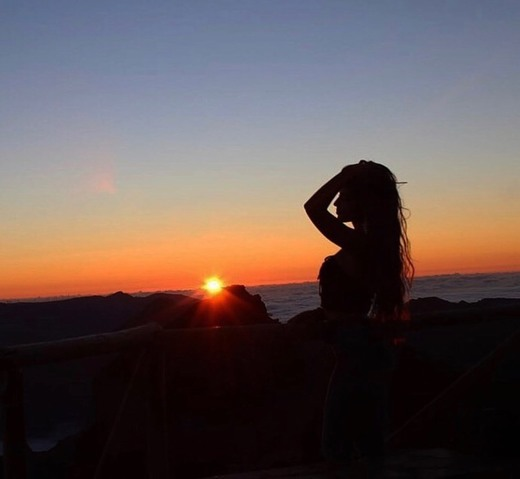 Sunset no Pico do Arieiro
