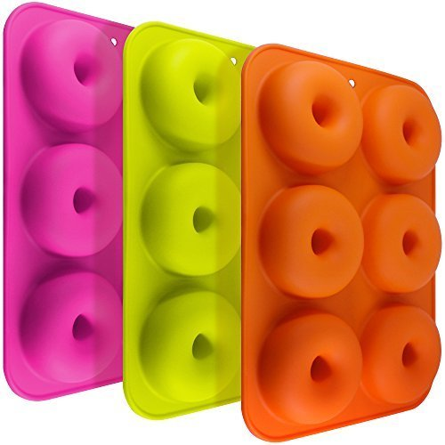 fineg Brentwood FG Molds 33Pack Silicona Donut Formas