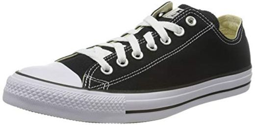 Converse Chuck Taylor All Star Ox, Zapatillas Unisex adulto, Negro