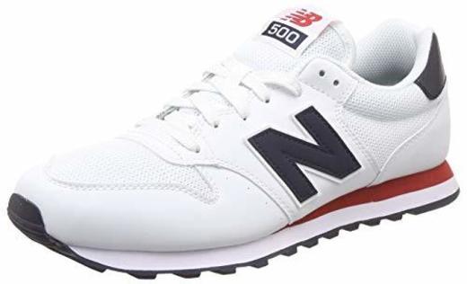 New Balance 500 Core, Zapatillas para Hombre, Blanco