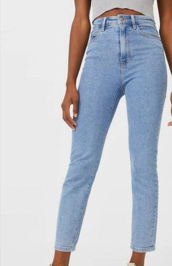 Mom Jeans Slim Fit