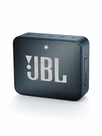 JBL GO 2 JBLGO2NAVY - Altavoz Inalámbrico Portátil con Bluetooth, Parlante Resistente