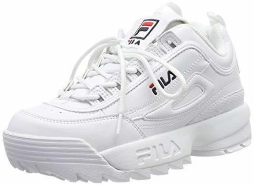 Fila Disruptor Low Wmn, Zapatillas para Mujer, Blanco