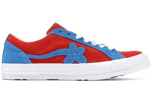 Golf le fleur - ténis azuis e vermelhos