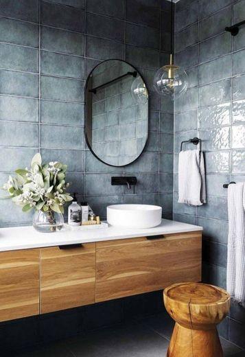 Casa de banho minimalista