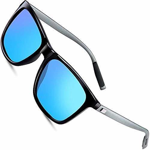wearPro Sunglasses Mens Retro Vintage Polarized Sun Glasses WP1003