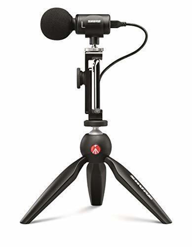 Kit de vídeo Shure MV88+ con micrófono Condensador Digital estéreo para Apple