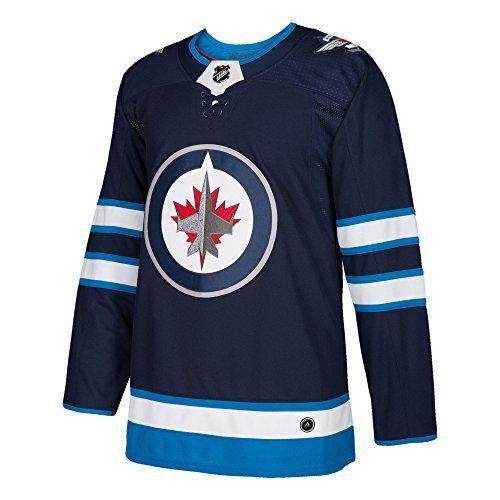 adidas Winnipeg Jets NHL Hombres Climalite auténtico Equipo Hockey Jersey