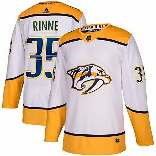 TOPSEE Camiseta de Hockey sobre Hielo NHL Nashville Predators Rinne #35 White