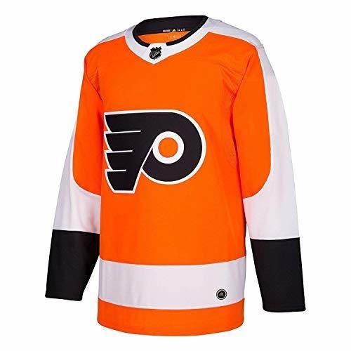 adidas Philadelphia Flyers NHL Hombres Climalite auténtico Equipo Hockey Jersey - 252JA512EZ-FLYERS