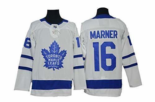 Gmjay Marner 16 Hockey Jersey Toronto Maple Leafs Hockey Números de Letras