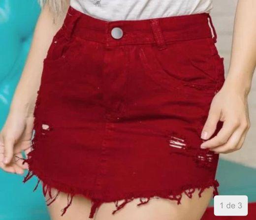 Saía jeans