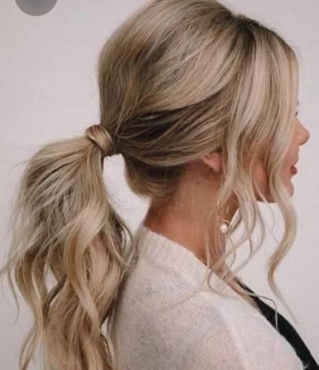 Penteado fácil e prático