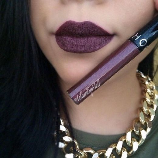 Cream Lip Stain Dark Purple