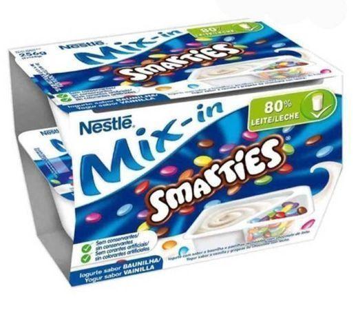 Iogurte smarties