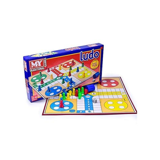 Ludo Traditional Board Game x 1 by KandyToys