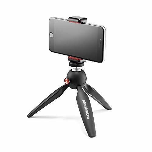 Manfrotto Pixi Smart - Mini trípode para smartphone
