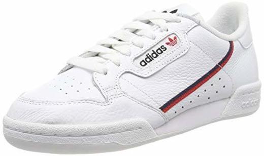 adidas Continental 80, Zapatillas de Gimnasia para Hombre, Blanco