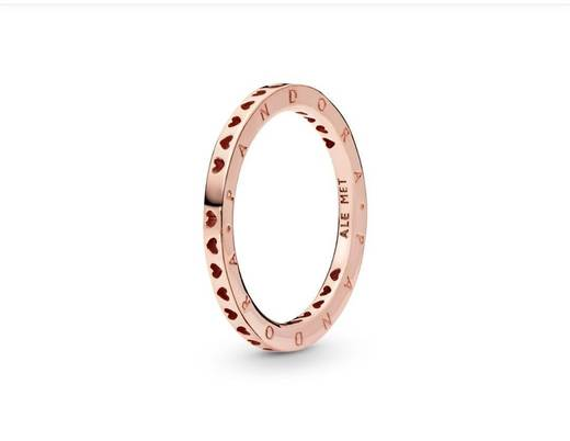 Anel Pandora Rose Gold