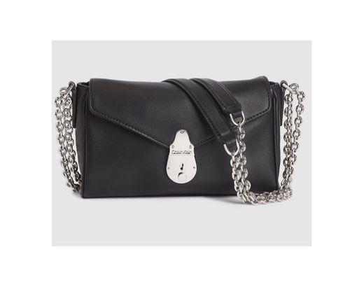 Lock Small Leather Shoulder Bag CALVIN KLEIN®