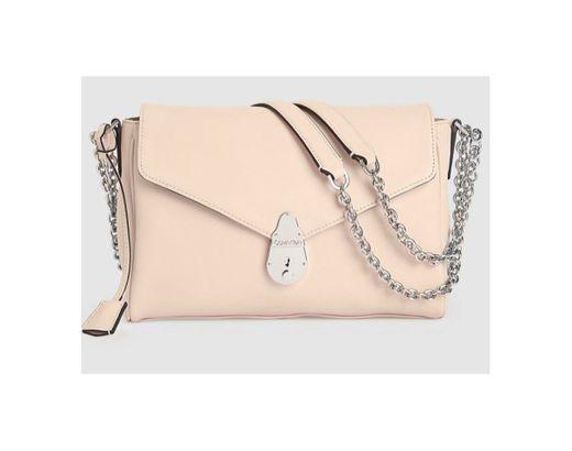 Lock Leather Shoulder Bag CALVIN KLEIN®