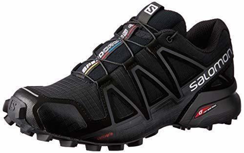 Salomon Speedcross 4 W, Zapatillas de Trail Running para Mujer, Negro