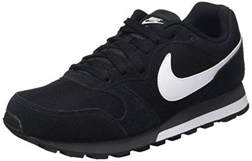 Nike MD Runner 2, Zapatillas de Running Hombre, Negro