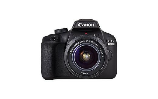 Canon EOS 4000D Camara Con Objetivo EF-S 18-55mm III