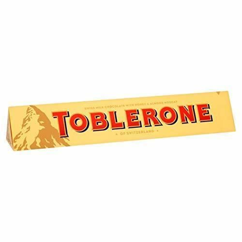 Toblerone Milk Chocolate de Barra Grande