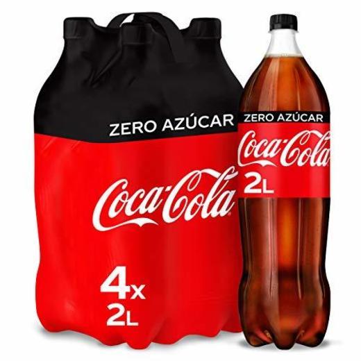 Coca-Cola Zero Azúcar Botella - 2 l