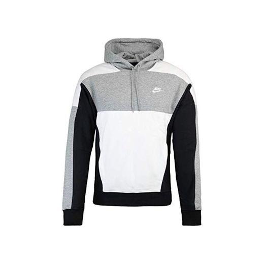 Nike Club BB PO - Sudadera con capucha gris