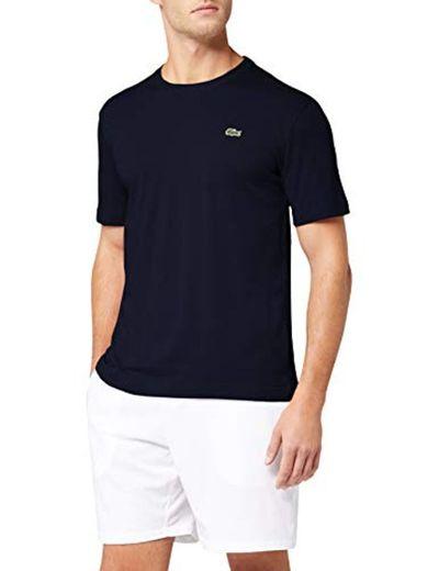 Lacoste TH7618, Camiseta para Hombre, Azul