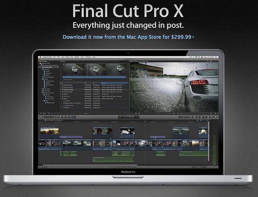 Final Cut Pro X - Apple