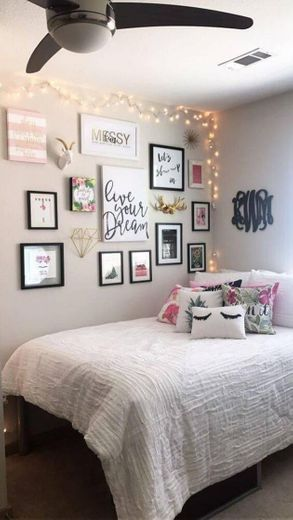 Ideia de decoração de quarto ✨